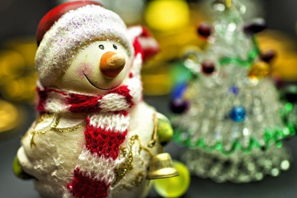 雪だるまの飾り